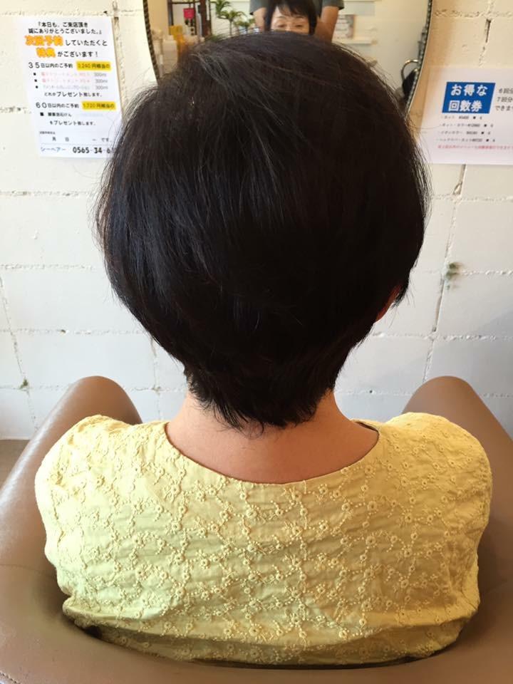 アメリオール 本気の育毛セット アフター